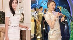 Đăng quang chưa lâu, HH Trần Tiểu Vy đã đụng váy áo hàng loạt đàn chị
