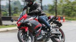 2019 Kawasaki Ninja 250 giá 130 triệu đồng, hút dân tập chơi