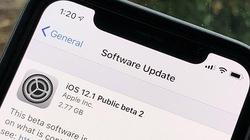 Apple tung iOS 12.1 beta 2, sửa lỗi sạc pin trên iPhone Xs và Xs Max