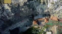 Độc đáo chùa treo 1.500 năm ở Trung Quốc, kỳ quan bị thế giới quên lãng