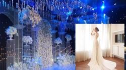 Không gian tiệc cưới sang trọng của Lan Khuê và chồng thiếu gia