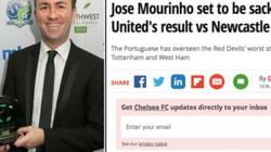 """Tung tin HLV Mourinho bị sa thải, nhà báo lĩnh """"quả đắng"""""""