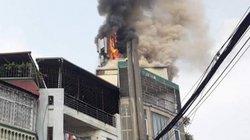 Hà Nội: Cháy lớn ở quán karaoke trên đường Hào Nam