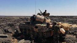 Chiến sự Syria: Quân đội ra đòn độc tiêu diệt khủng bố vùng núi lửa