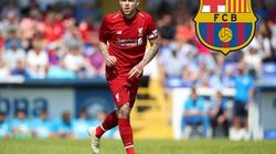 """Barcelona gây sốc, tậu """"người thừa"""" của Liverpool"""