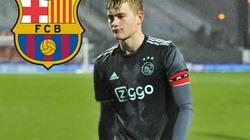 """Barca đàm phán mua """"lá chắn thép"""" người Hà Lan"""