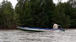 Cà Mau: Lật vỏ lãi trên sông, một người đàn ông mất tích
