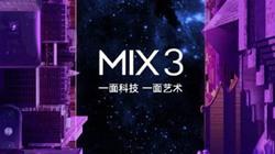 Xiaomi Mi MIX3 sẽ chứa 2 tính năng chưa từng có trên smartphone