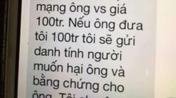 Chánh Văn phòng Đoàn ĐBQH Hà Nội bị đe dọa, đòi 100 triệu đồng