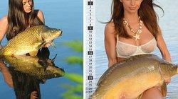 Bộ lịch người mẫu nóng bỏng chụp với cá có gì mà dân mạng dậy sóng?