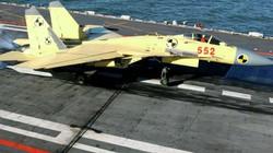 Bất ngờ với uy lực J-15 của Trung Quốc so với Su-33 của Nga