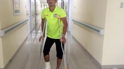 Gãy chân, cầu thủ U19 Tajikistan có oán trách đồng nghiệp U19 Malaysia?
