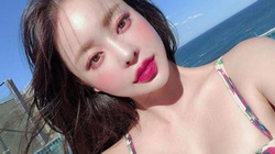 2 cô gái Hàn Quốc hái ra tiền nhờ đôi môi đẹp như hoa
