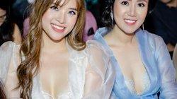 Hoa hậu làm mẹ đơn thân khoe vòng 1 lấp ló tại sự kiện