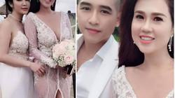 Choáng với váy cưới trong suốt, giá hàng trăm triệu vợ Tiêu Quang Vboys