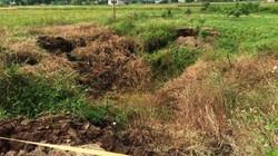 Quảng Ninh: Xuất hiện hố sụt lún rộng hàng chục mét vuông