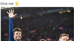 """Barcelona """"xát muối"""" vào Real Madrid bằng bức hình troll nổi tiếng"""