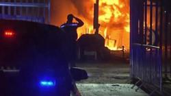 Hình ảnh thảm khốc vụ rơi trực thăng khiến Chủ tịch Leicester thiệt mạng