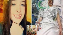 """Hội chứng """"khóa trong"""" khiến cô gái này chỉ có thể chớp mắt trong suốt 18 tháng"""
