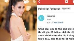 """Hacker đòi 20 triệu tiền chuộc, """"kiều nữ làng hài"""" Nam Thư xử lý thế này"""