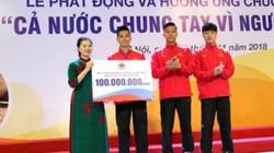 ĐT Việt Nam có nghĩa cử đẹp trước thềm AFF Cup 2018