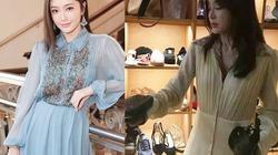 Sao Hoa ngữ giàu sụ vẫn mê thời trang hạ giá, giá bèo