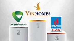 """Vietcombank và PVGas """"rượt đuổi"""" VinHomes của tỷ phú Phạm Nhật Vượng"""