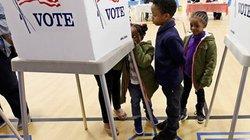 Dân Mỹ căng thẳng như đánh trận khi đi bầu cử