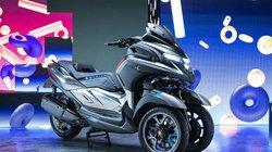 Ngắm siêu xe ga Yamaha 3CT vô cùng hoành tráng, siêu hiện đại