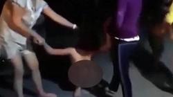 Xôn xao clip cô gái bị cắt tóc, lột quần áo, kéo lê ở Hải Phòng