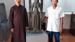 Tượng nữ thần cổ cực quý hiếm lần đầu được tìm thấy ở Việt Nam