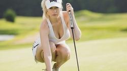 Trang phục đốt mắt của nữ golf thủ bị dọa giết vì đẹp