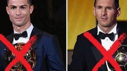 SỐC: Sau 1 thập kỷ, Ronaldo và Messi cùng trượt Top 3 Quả Bóng Vàng 2018