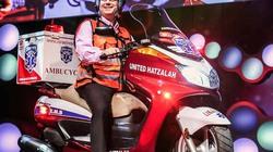 Đội cấp cứu bằng mô tô nhanh nhất thế giới đã cứu mạng hàng triệu người