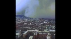 """Video """"sóng thần"""" tuyết khổng lồ nuốt chửng thành phố Nga"""
