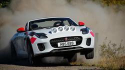 Cận cảnh xe đua việt dã hàng hiếm Jaguar F-Type rally