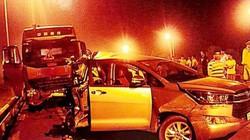 Vụ đâm xe Innova đi lùi trên cao tốc: Chưa kết luận anh Hoàng có lỗi