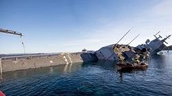Chiến hạm 500 triệu USD của Na Uy bị tàu chở dầu đâm chìm nghỉm