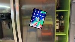 iPad Pro 2018 có thể dính vào mọi thứ nhưng hãy cẩn thận