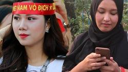 Sự khác nhau giữa cổ động viên Việt Nam và Malaysia đi cổ vũ AFF Cup