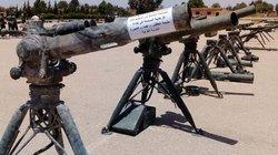 """Quân đội Syria """"bóc tem"""" kho tên lửa Mỹ khủng bố bỏ lại"""