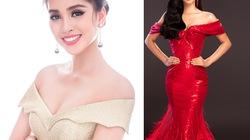 4 chiếc đầm trễ vai giúp Trần Tiểu Vy tỏa sáng ở Miss World