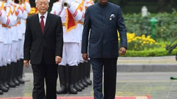 Ảnh: Chuyến thăm đầu tiên của Tổng thống Ấn Độ tới Việt Nam