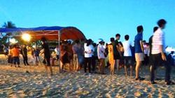 Tập trung tìm kiếm nam sinh 13 tuổi mất tích ở biển Quy Nhơn