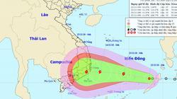 Áp thấp nhiệt đới có khả năng mạnh thành bão, hướng thẳng Nam Trung Bộ
