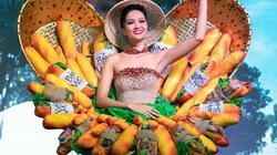 """H'Hen Niê mang trang phục """"Bánh mì"""" gây tranh cãi thi Miss Universe"""