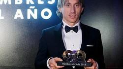 Giành thêm giải thưởng cá nhân, Luka Modric cầm chắc Quả Bóng Vàng 2018?