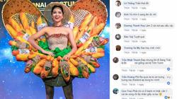 """Dậy sóng khen chê quanh trang phục """"Bánh mì"""" H'Hen Niê mang đi Miss Universe"""