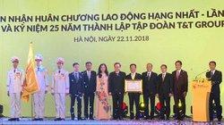 Tập đoàn T&T Group đón nhận Huân chương Lao động hạng Nhất lần thứ 2 và ra mắt bộ nhận diện thương hiệu mới