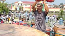 Cận cảnh trống hội to nhất Việt Nam có giá gần 200 triệu đồng